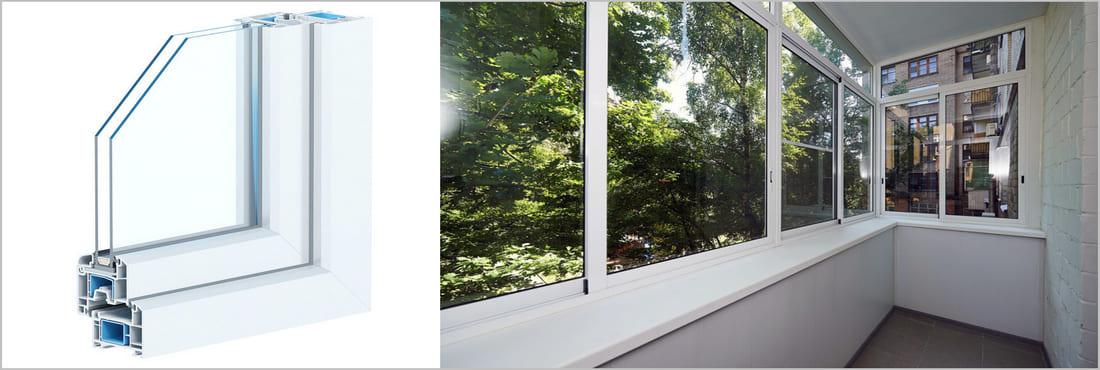 ПВХ окна и остекление балконов и лоджий