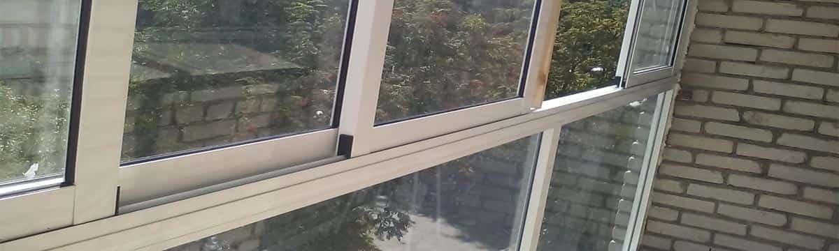 Остекления террас, балконов и лоджий алюминиевыми рамами. Часть 3